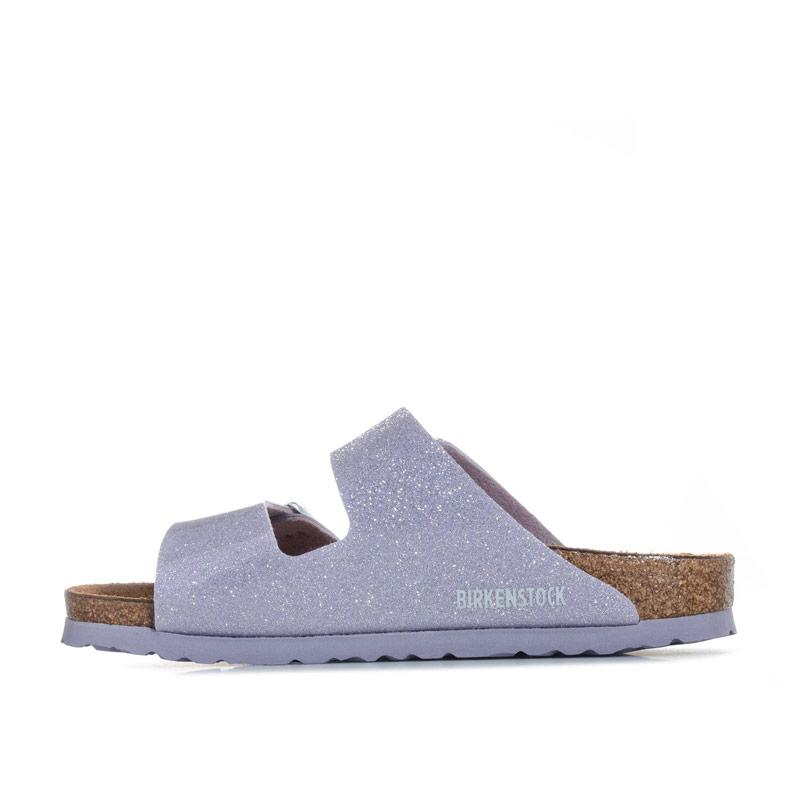 Birkenstock Infant Girls Arizona Magic Galaxy Sandals Lavender