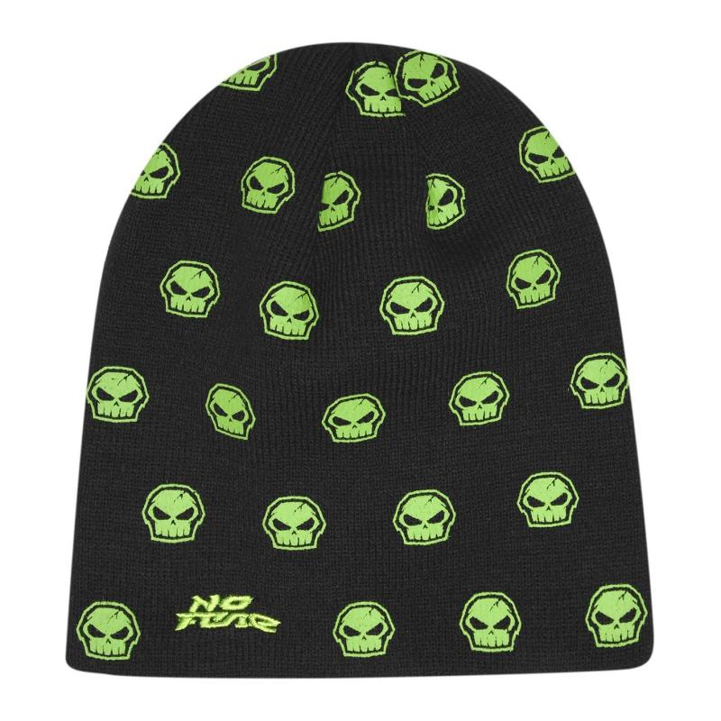 No Fear Beanie Hat Infant Boys Black/Green