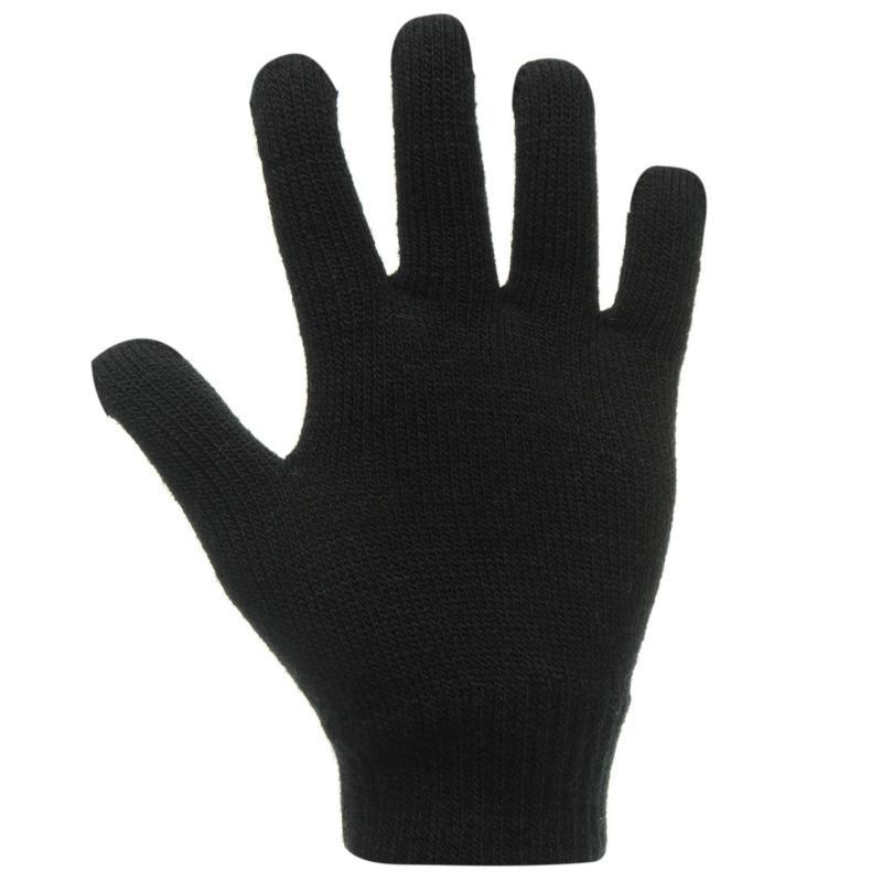 No Fear Print Gloves Junior Boys Bones
