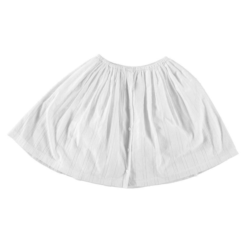 Penguin Down Skirt Bright White