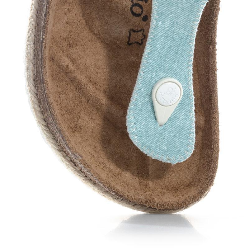 Boty Papillio Womens Gizeh Sandals Regular Width Light Blue