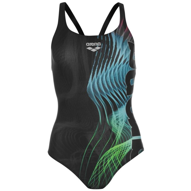 Plavky Arena Shades Swimsuit Ladies Black