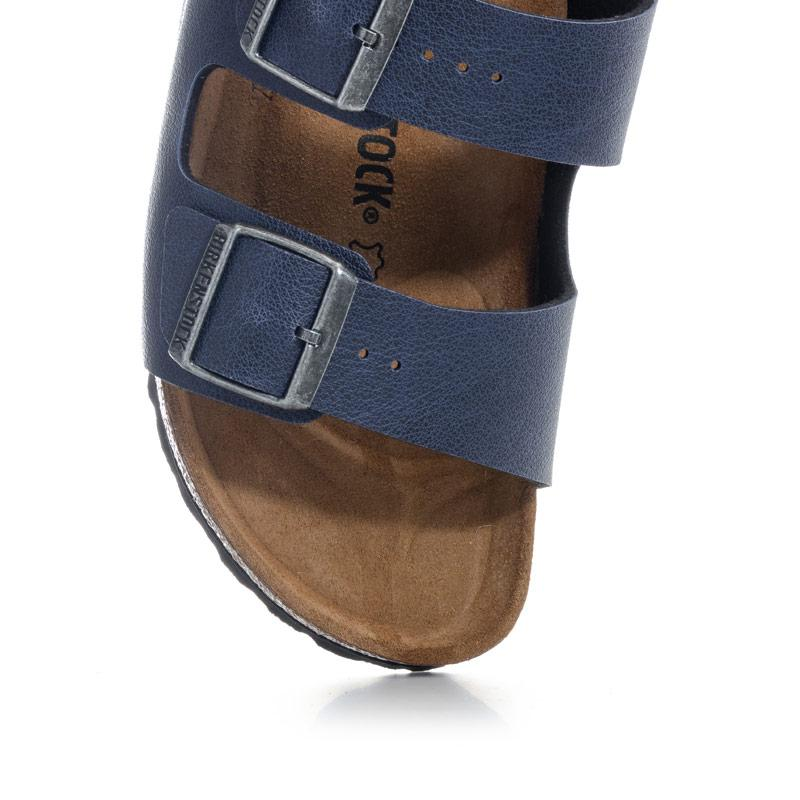 Boty Birkenstock Children Boys Arizona Pull Up Sandals Navy