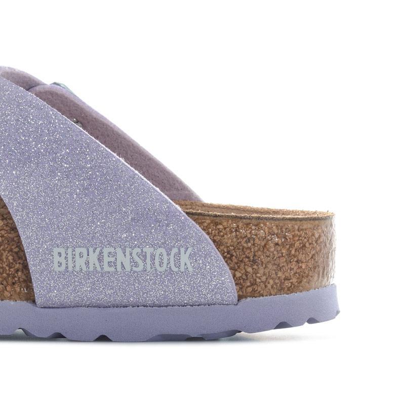 Birkenstock Children Girls Gizeh Magic Galaxy Sandals Violet