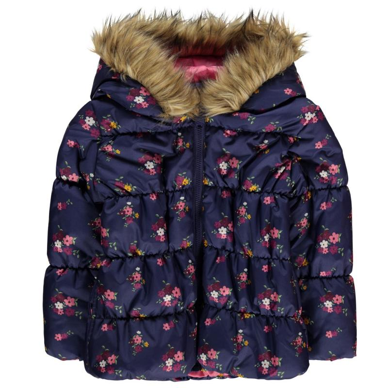 Crafted Essentials Padded Jacket Infant Girls Red