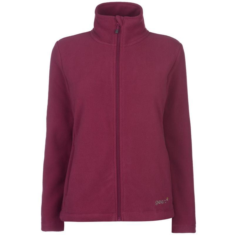 Mikina Gelert Ottawa Fleece Jacket Ladies Berry