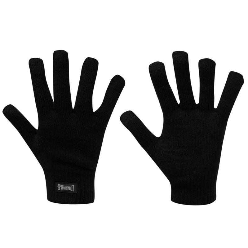 Lonsdale Hook Gloves Junior Boys Black