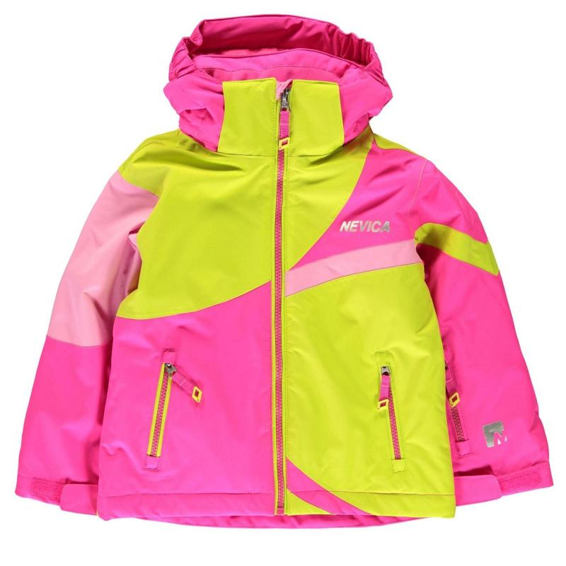 Bunda Nevica Meribel Jacket Infants Black/Green