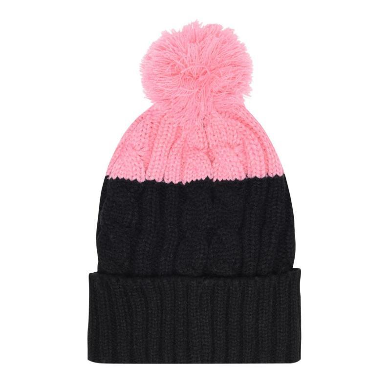 SoulCal Eolous Hat Ladies Black/Pink