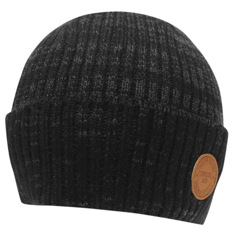 SoulCal Hagues Hat Mens Black
