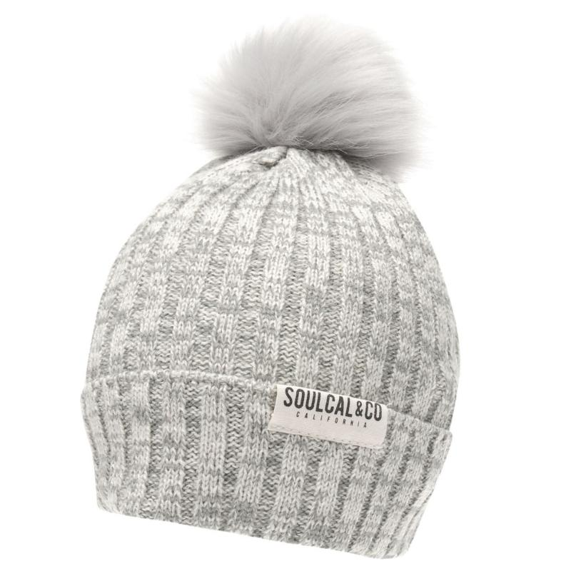 SoulCal Sapphire Hat Ladies Pink/White