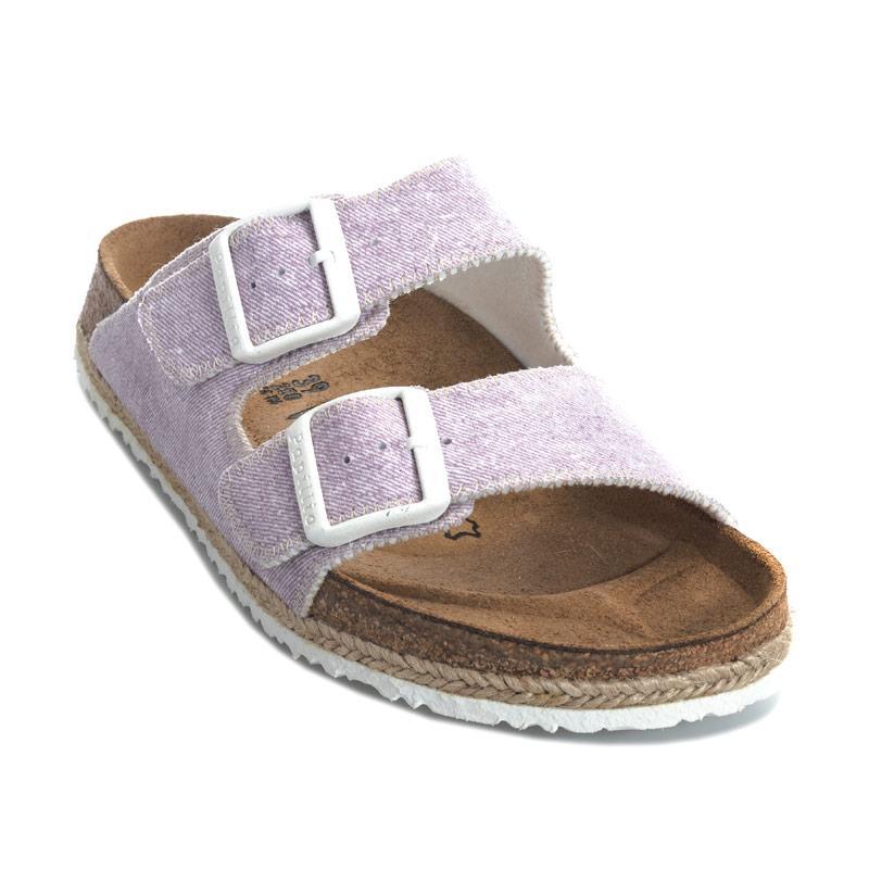 Boty Papillio Womens Arizona Sandals Narrow Width Purple