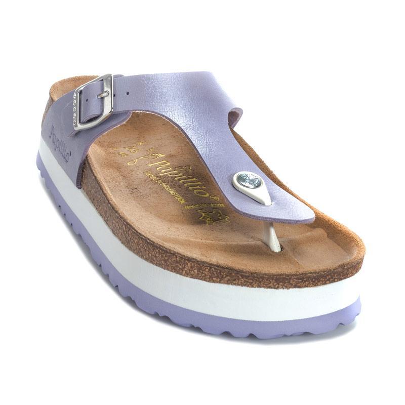 Boty Papillio Womens Gizeh Platform Sandals Regular Width Lavender