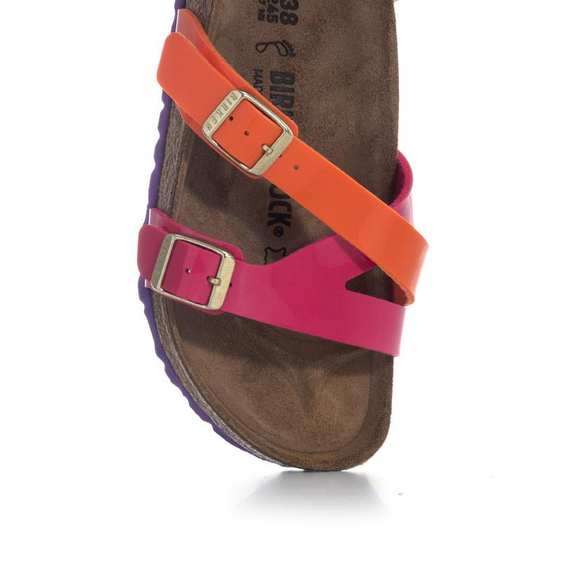 Boty Birkenstock Womens Yao Sandals Regular Width Orange