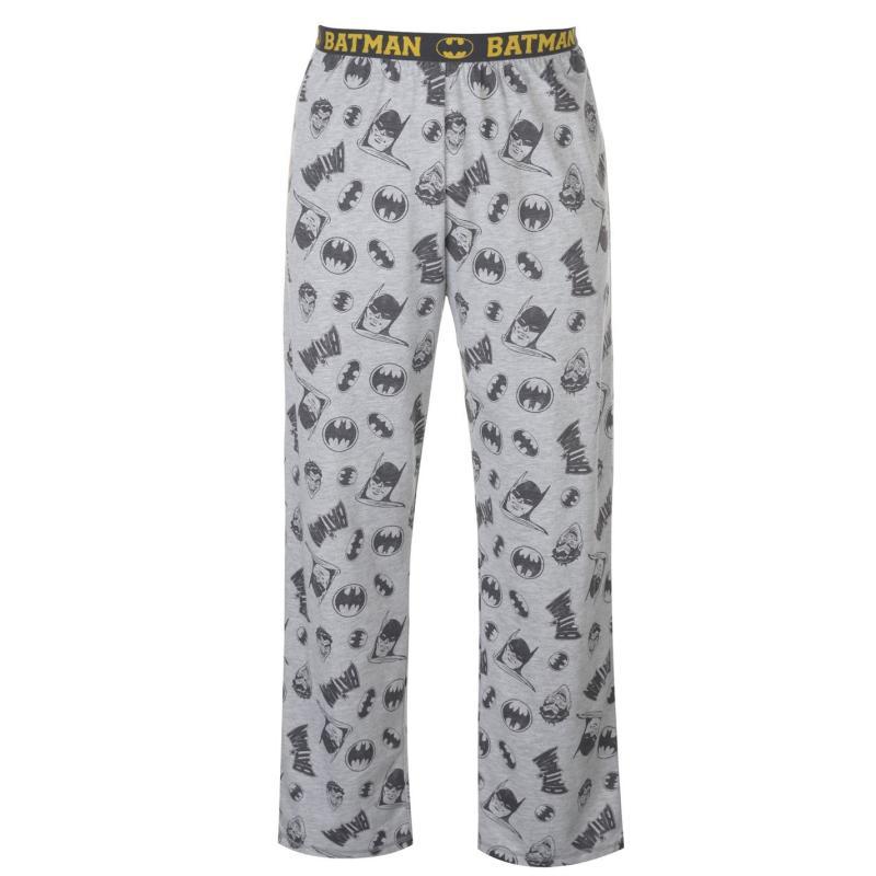 Pyžamo Character 2 Pack Pyjama Bottoms Mens DC Comics