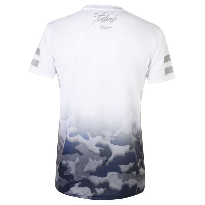 Tričko Fabric Sublimation T Shirt Mens Camo Fade
