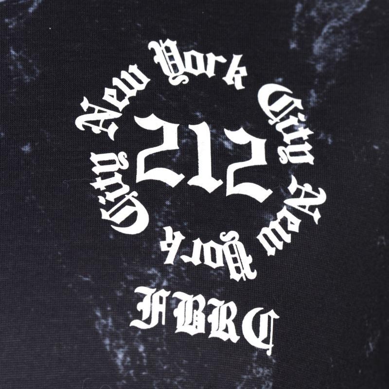 Tričko Fabric Sublimation T Shirt Mens Restless Black