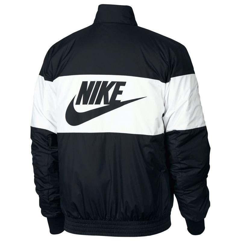 Nike Sportswear Synthetic Fill Jacket Mens Black/White