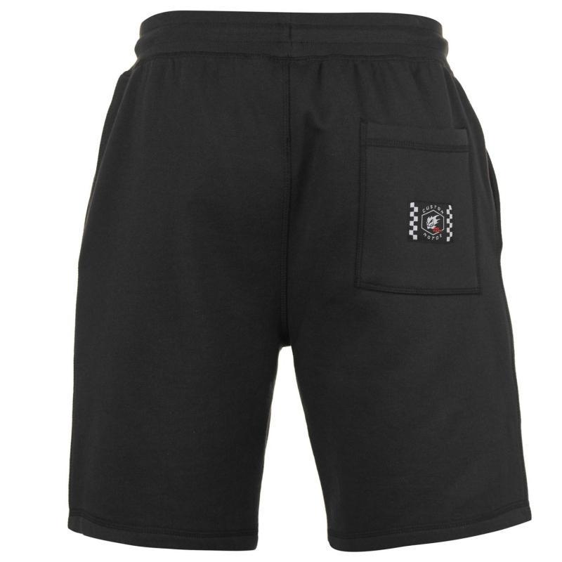 No Fear Custom Motox Shorts Mens Black