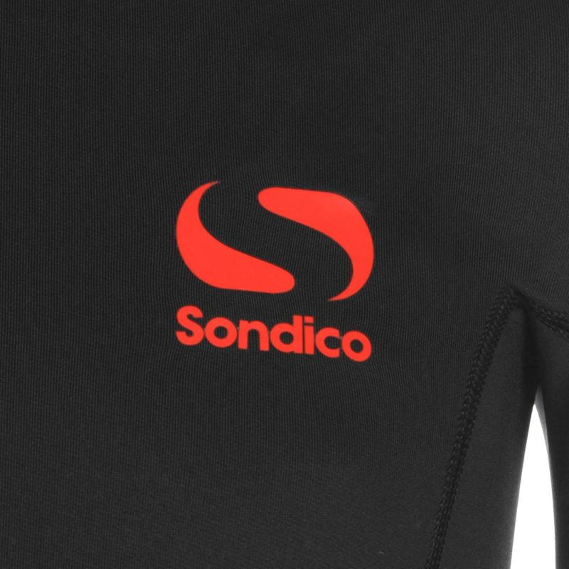 Sondico Sonditherm Mock T Shirt Junior Boys Black
