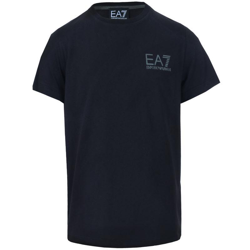 Tričko Emporio Armani EA7 Infant Boys Core ID SS T-Shirt Grey