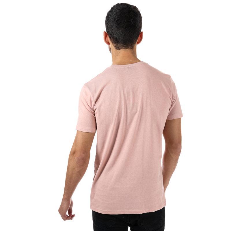 Tričko NICCE Mens Core Keyline T-Shirt Pink