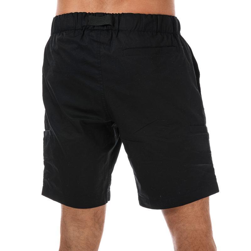 NICCE Mens Legion Cargo Shorts Black