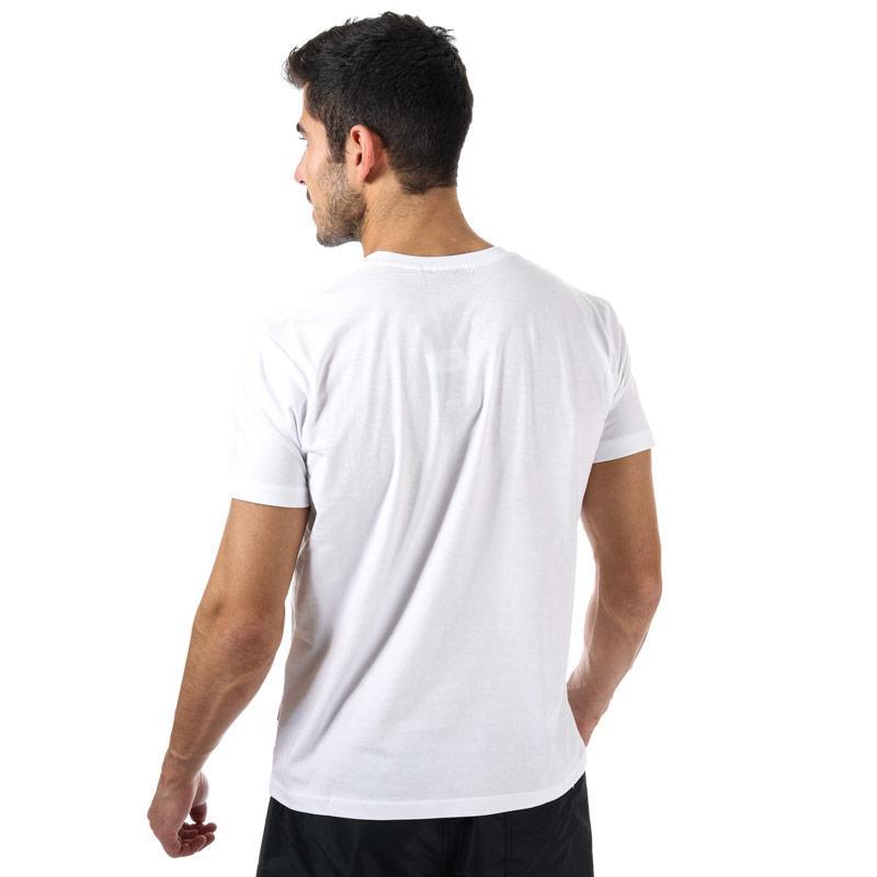 Tričko NICCE Mens Raised Rubberised Keyline T-Shirt White