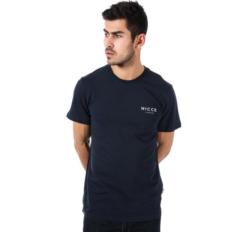 Tričko NICCE Mens Split Logo T-Shirt White