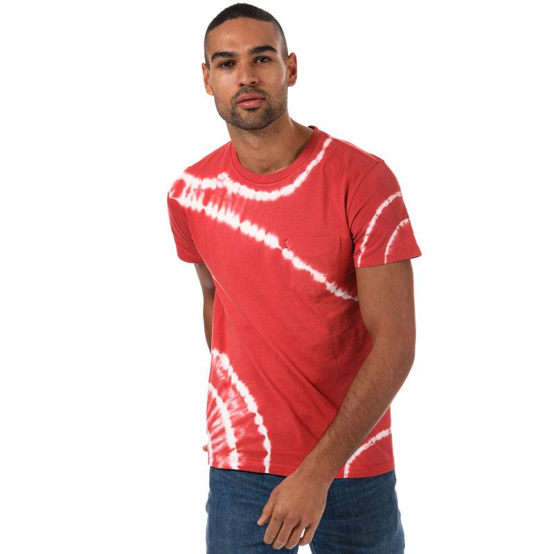 Tričko Levis Mens Sunset Pocket T-Shirt Light Blue