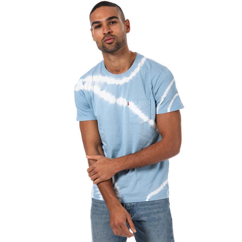 Tričko Levis Mens Sunset Pocket T-Shirt Blue