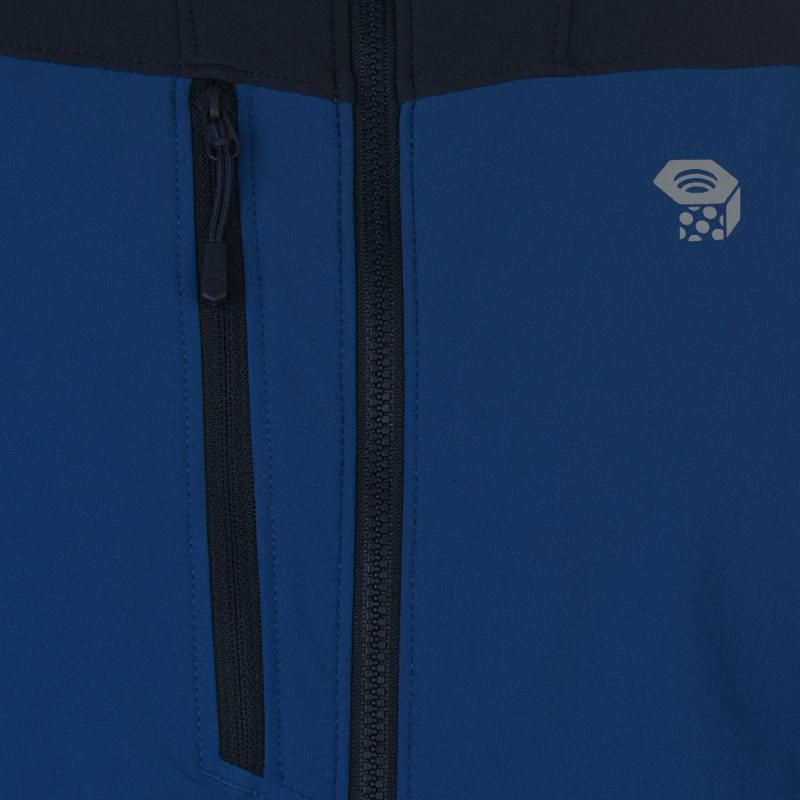 Mountain Hardwear Super Chockstone Hooded Jacket Mens Blue