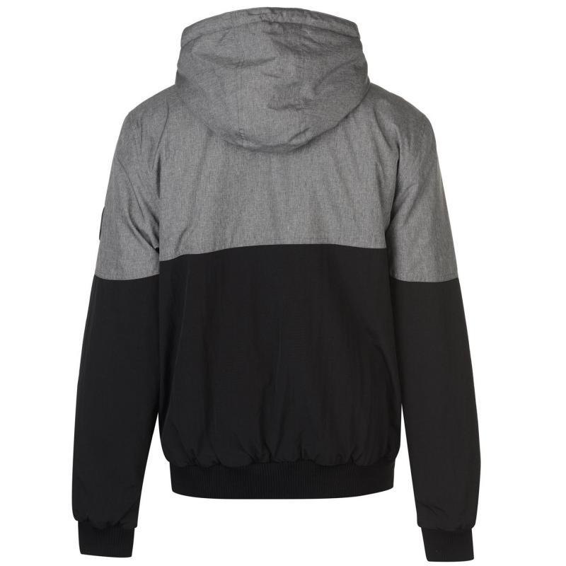 SoulCal Chad Jacket Mens Black/Grey Marl