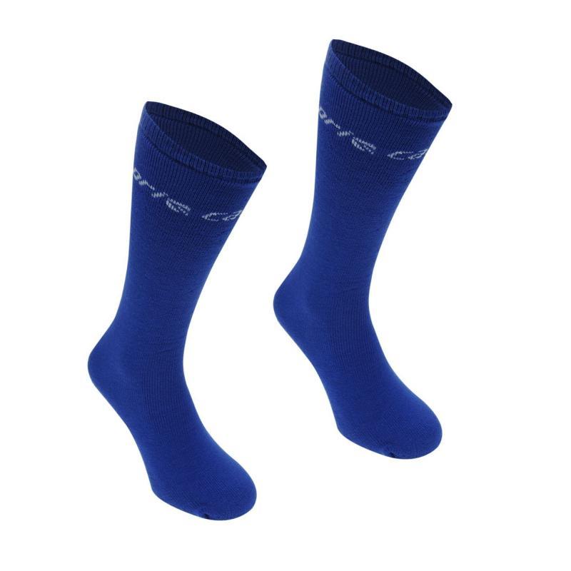 Ponožky Campri Ski Tube 2 Pack Juniors Fuchsia
