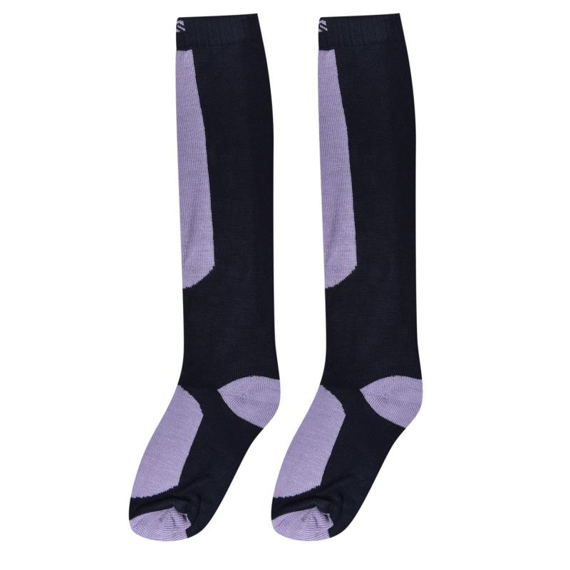 Ponožky Campri Snow Sock 2 Pack Ladies Navy/Lilac