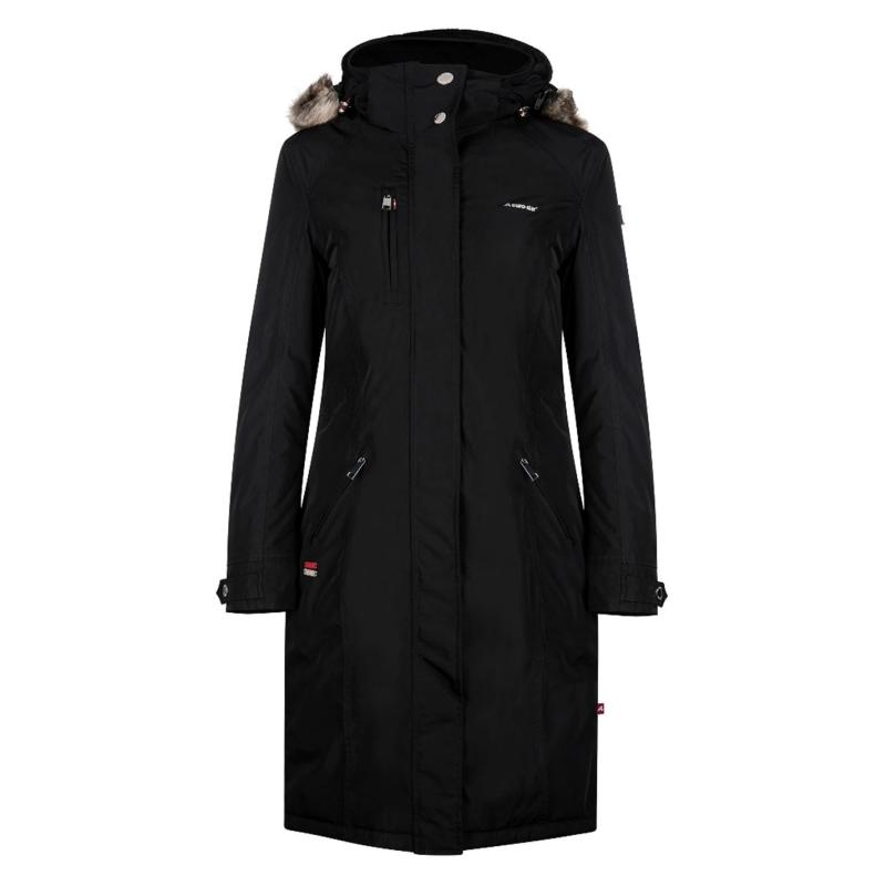 Eurostar Ladonna Long Jacket Black