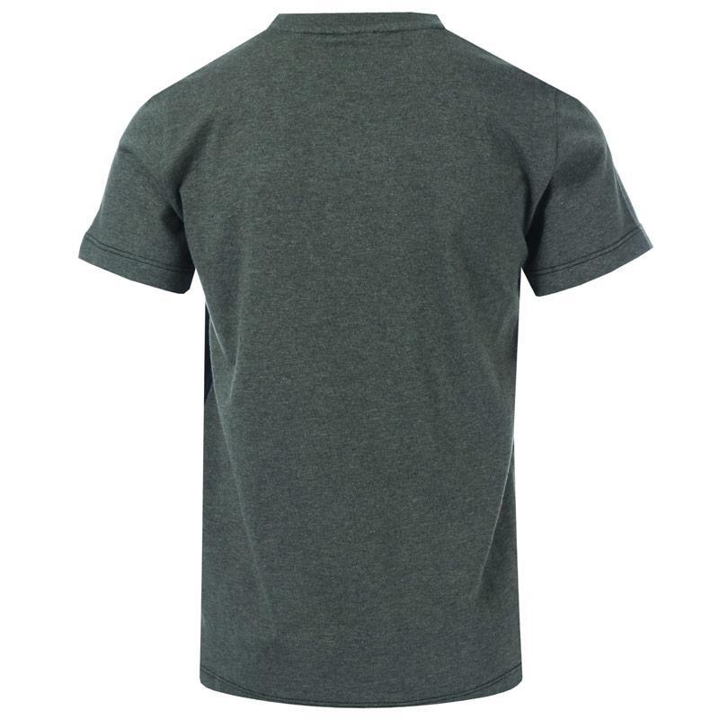 Tričko Emporio Armani EA7 Infant Boys Train Tritonal SS T-Shirt Charcoal