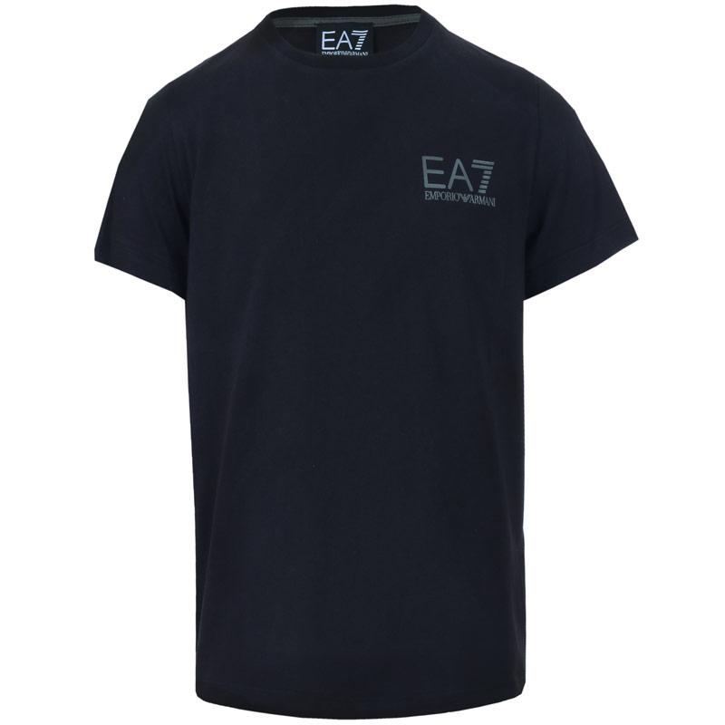 Tričko Emporio Armani EA7 Junior Boys Core ID SS T-Shirt Navy