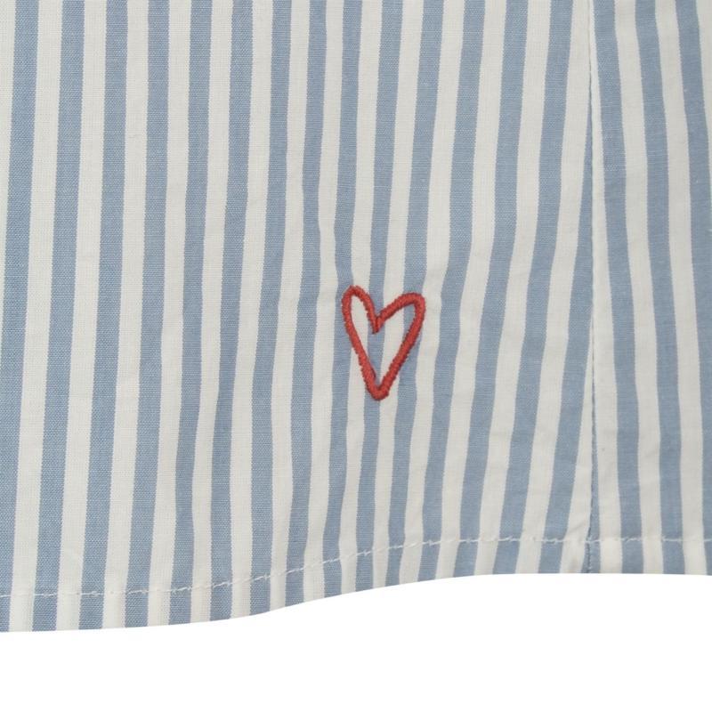 Košile Marc O Polo Cuff Shirt Blue