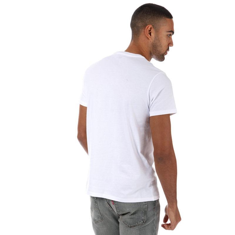 Tričko Levis Mens 501 Graphic T-Shirt White