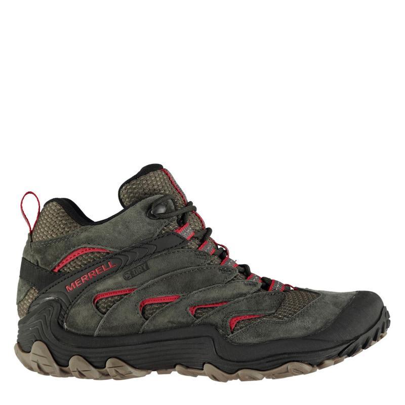 Boty Merrell Chameleon 7 Limit Mid Waterproof Walking Shoes Mens Beluga