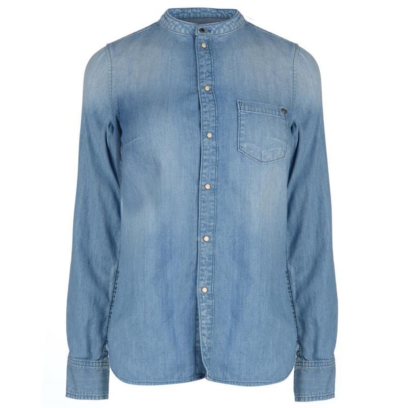 Košile Pepe Jeans Denim Shirt Blue Denim