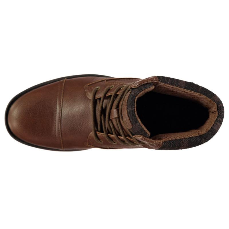 Boty Soviet Merck Mens Boots Black