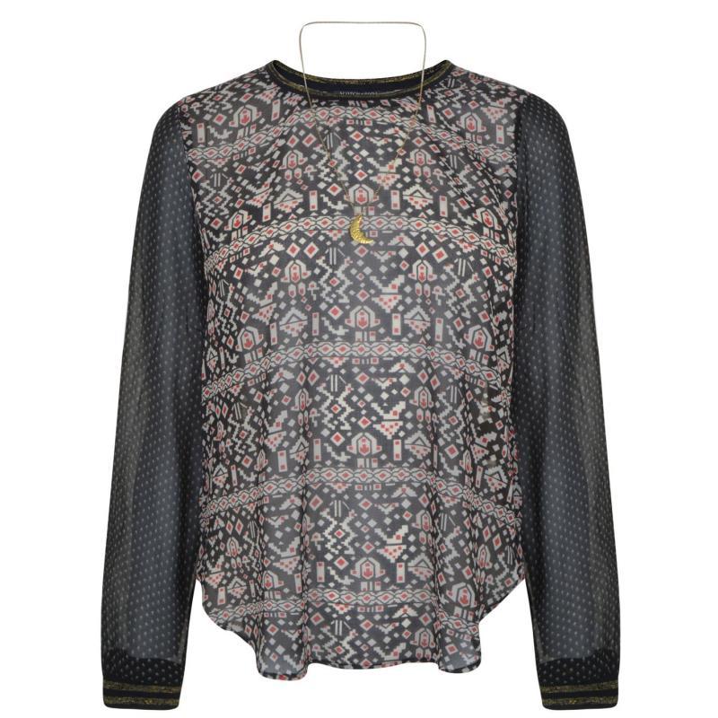 Košile Maison Scotch Print Blouse Combo P