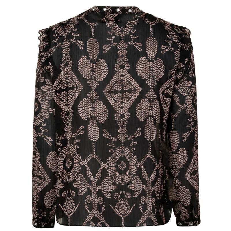 Košile Maison Scotch Shirt Black 17 a