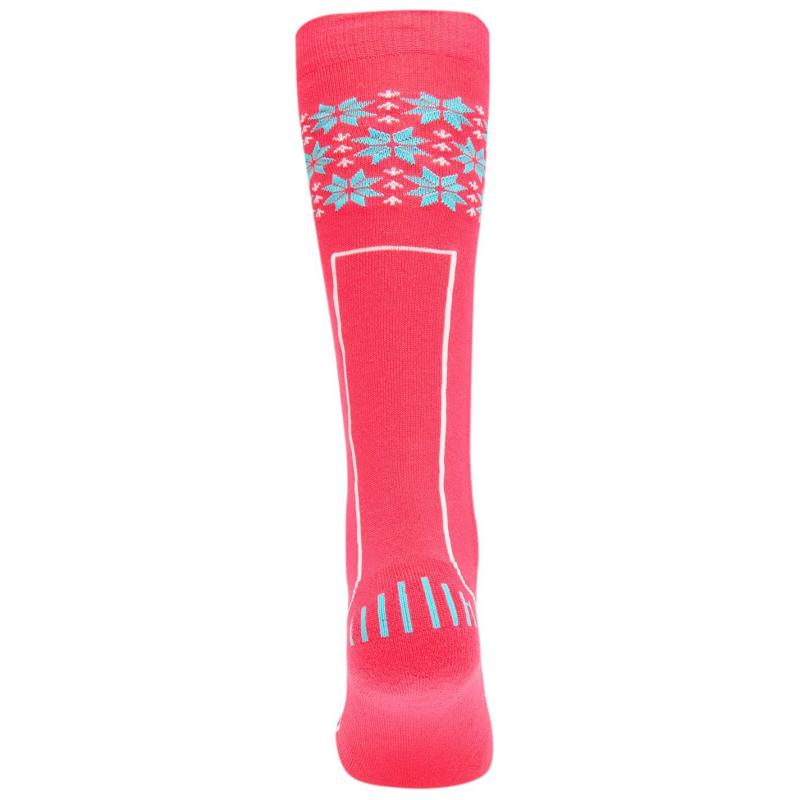 Nevica Vail 1 Pack Ski Socks Juniors Fuchsia/Blue