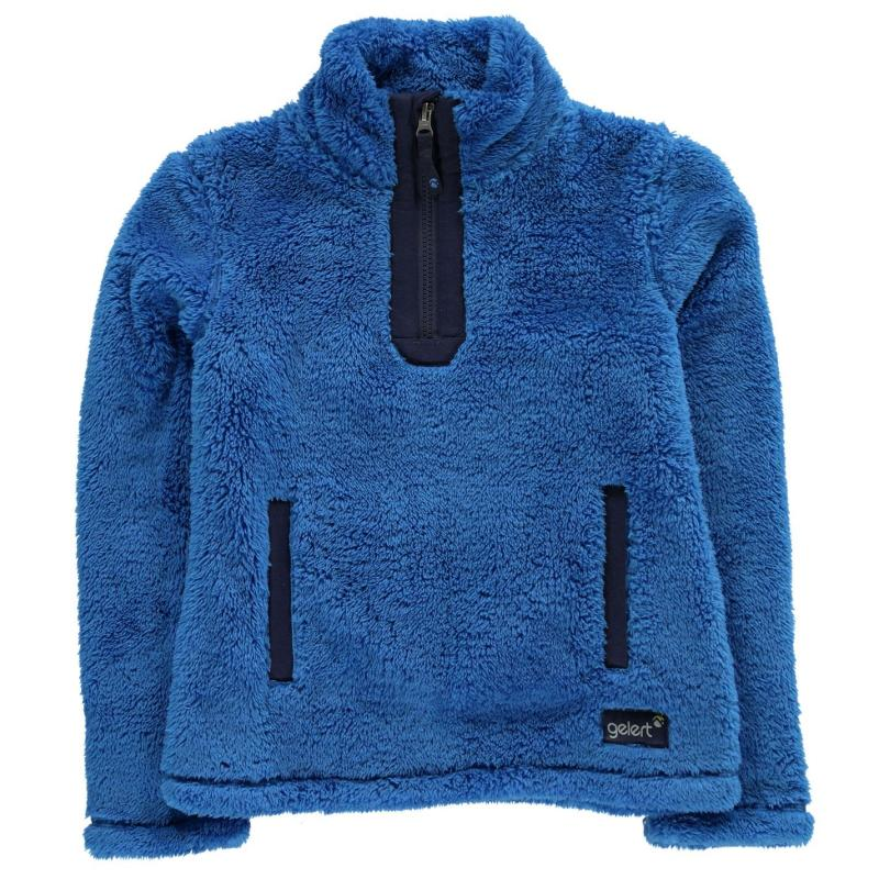 Gelert Yukon Micro Fleece Junior Girls Blue