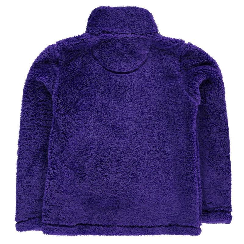 Gelert Yukon Micro Fleece Junior Girls Purple
