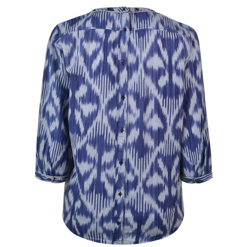 Košile Maison Scotch Shirt Navy Print