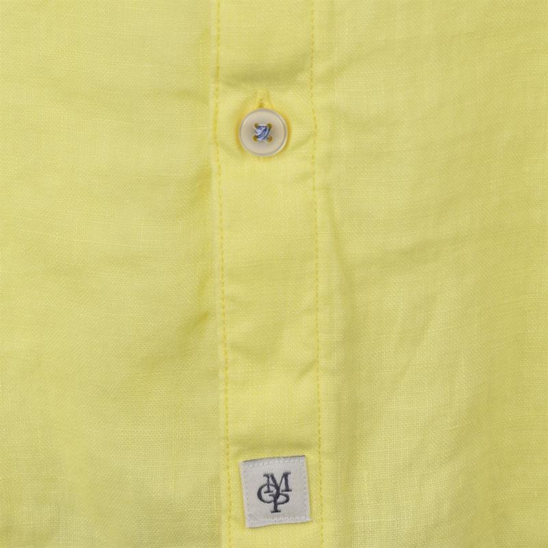 Marc O Polo Button Down Shirt Yellow